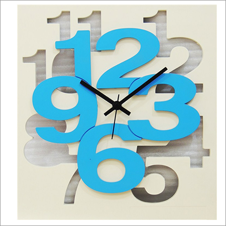 Stylish White Wall Clock
