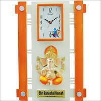 Orange Wall Clocks