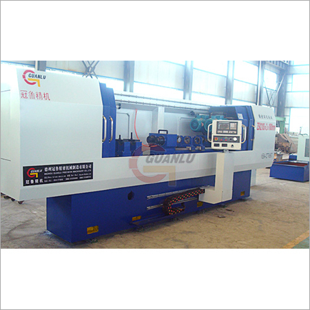 Two Axis Deep Hole Gun Drilling Machine