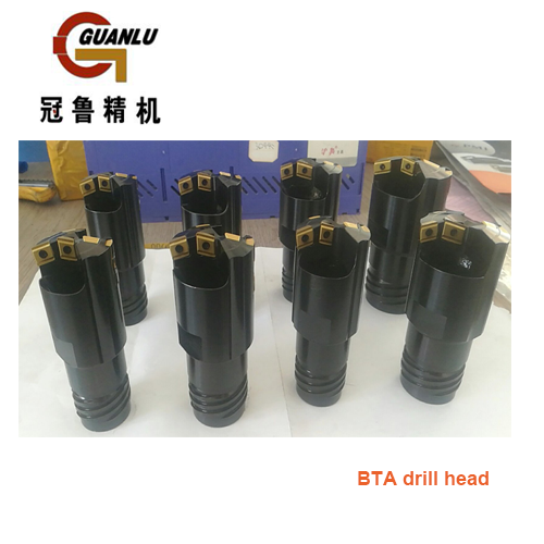 BTA Drill Heads For the Deep Hole Drilling and Boring Machine