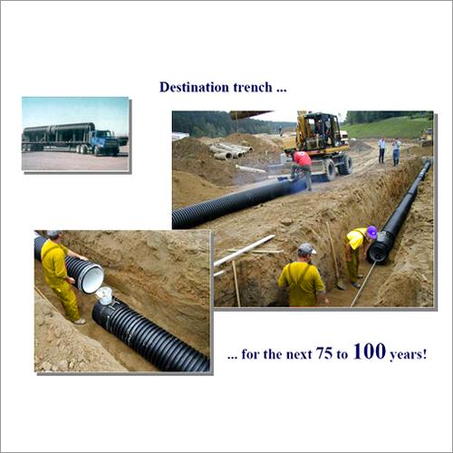 HDPE Drainage Sewerage Pipe