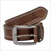 Split leather belt