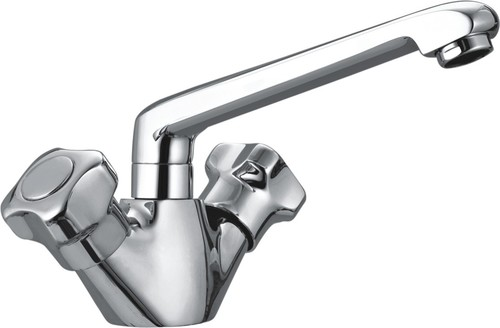 Sink Mixer Table Mounted with Swinging Spout
