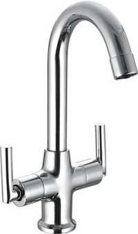 Table Mounted Double Handle Sink Mixer