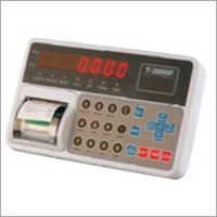 Platform Scale Indicator With Printer