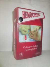 COLOUR SCALE FOR HAEMOGLOBIN