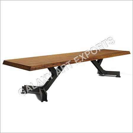 Wooden and Iron Benches