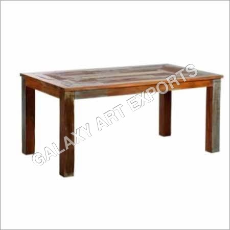 Wooden and Iron Square Benches