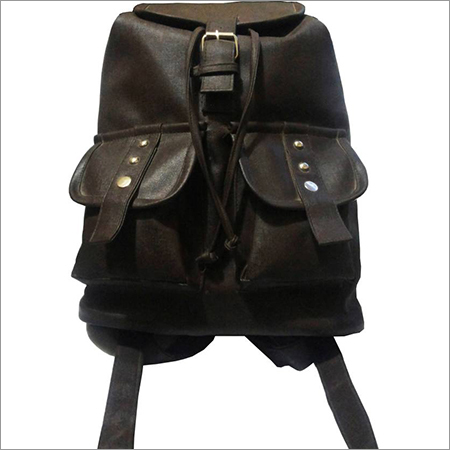 Dark Brown Backpack Bag