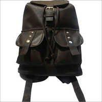 Dark Brown Backpack Bag