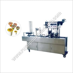 Automatic Cup Glass Filling Sealing