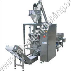Collar Type Packing Machine With Auger Filler