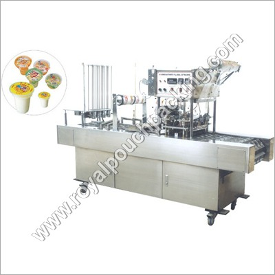 Automatic Cup - Glass Filling & Sealing Machine