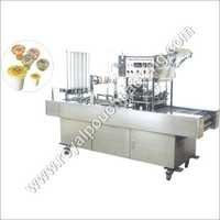 Automatic Cup Glass Filling Sealing Machine