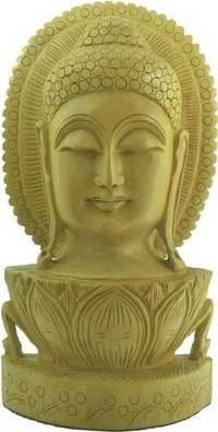 Wooden Handcrafted Buddha Statue