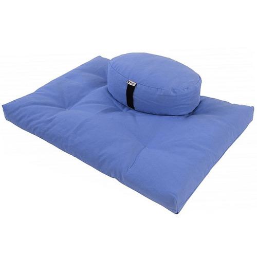 Zabuton Meditation Cushion With Buckwheat Filling