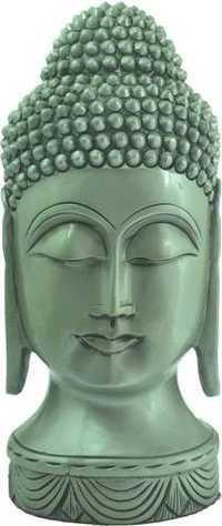 Wooden Buddha Silver