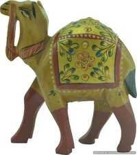Wooden Camel Beautiful Statue For Home Decoration