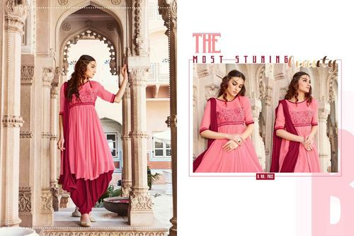 Pink Designer Readymade Suits