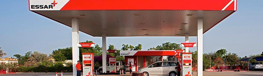 HPCL Petrol Pump Canopy