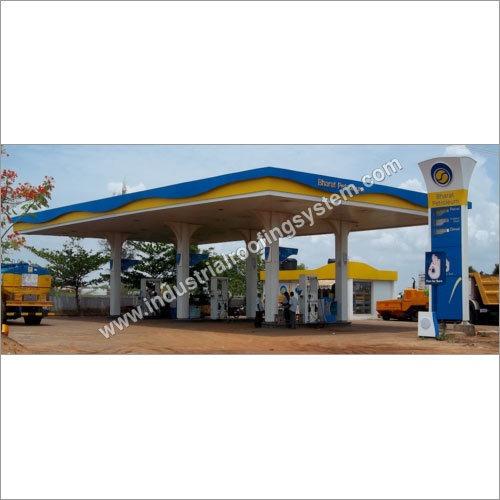 Bharat Petroleum Corporation Limited Petrol Pump Canopy