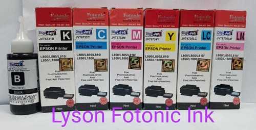 Lyson Inks for Epson L800/805 Printer