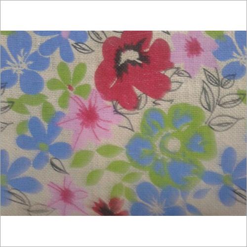 Printed Hessian Fabric