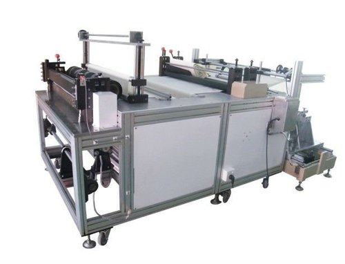 Non Woven Folding And Cutting Machine