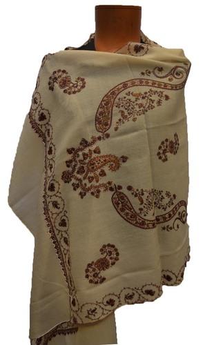 Kashmiri Embroidery Designer Scarf
