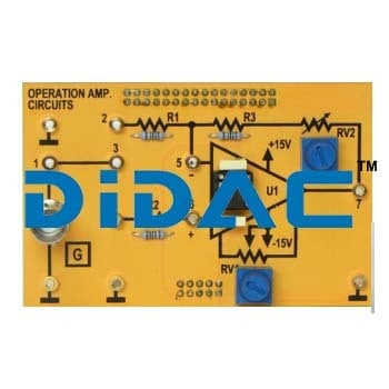 Kit For The Study Of Analogue Electronics Certifications: Iso