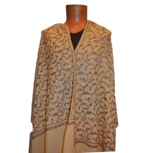 Needle Embroidered Indian Shawls