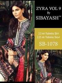 SIBAYASH (ZYNA VOL-9) Pashmina Style Salwar Kameez Wholesale