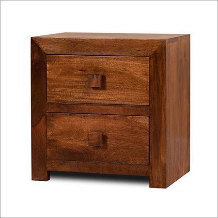 Mango Wood Bedside Table