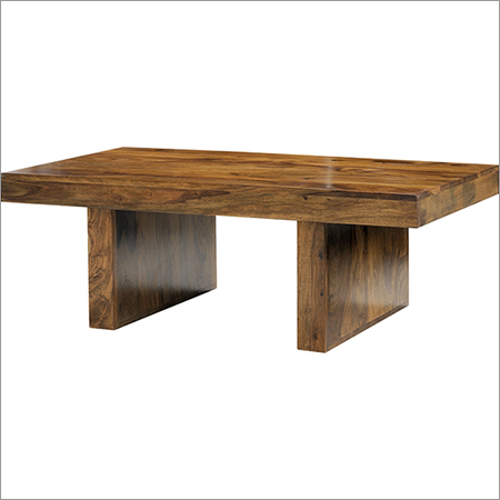 Cuba Solid Sheesham Block Coffee Table
