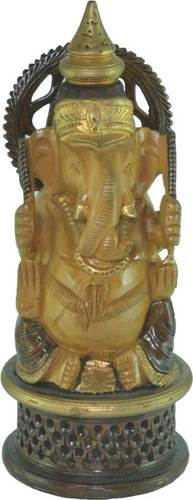 Wooden Beautiful Ganesha Statue