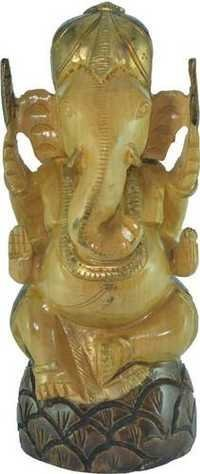Wooden Beautiful Ganesha Statue