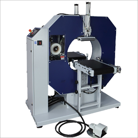 Semi Automatic Horizontal Stretch Wrap Machine