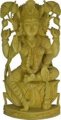 Beautiful Wooden God Statue