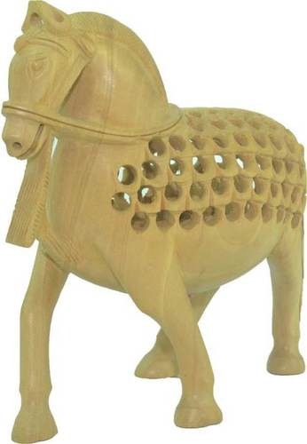 Beautiful Wooden Horses For Home Decoration