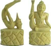 Beautiful Wooden Statues For Home Decoration