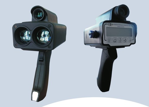 Hand Held Laser Speed Gun