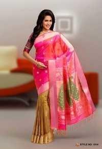 Pure Silk Handloom sarees -1014