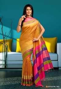 Pure Silk Handloom sarees -1021