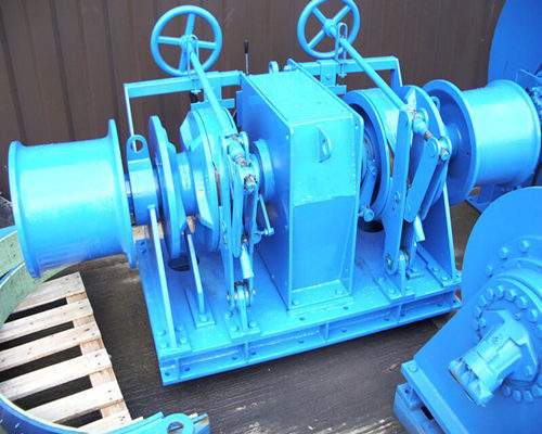 Industrial Combination Windlass Winch