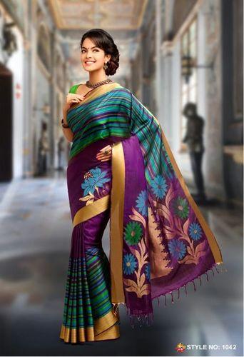 Pure Silk Handloom sarees -1042