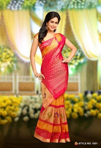 Pure Silk Handloom sarees -1051