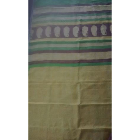 Ethnic Block Printed Saree