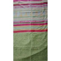 Custom Block Printed Saree (Pure Mulberry Silk)