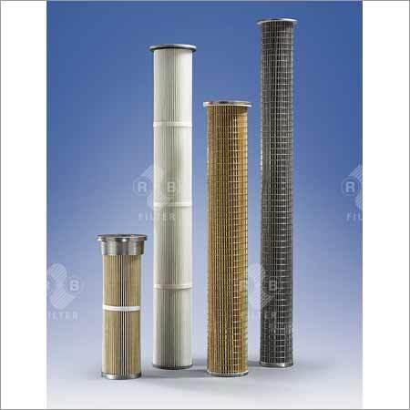 Filter Cartridges for Hot Gas Filtration