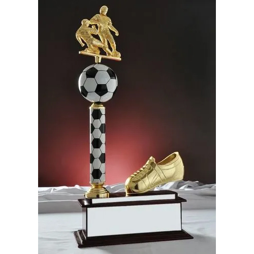 Wooden Football Trophy